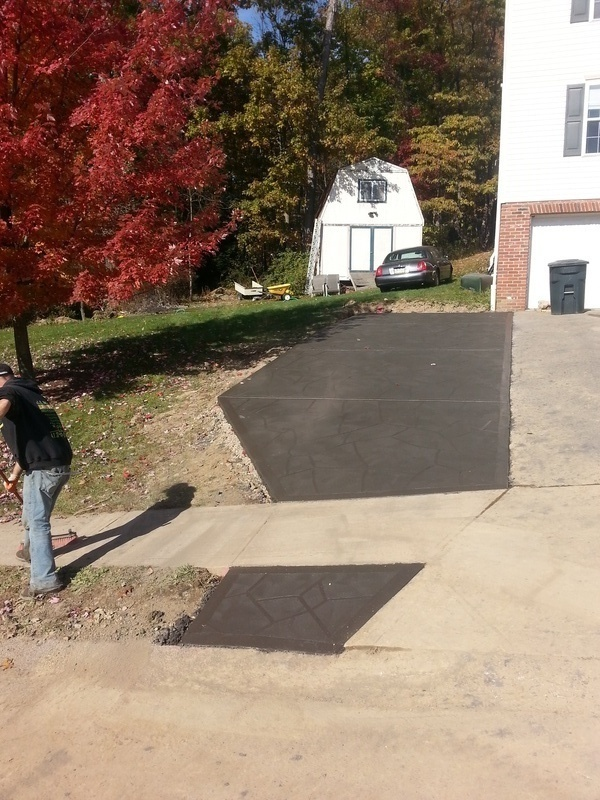 Driveway Poured