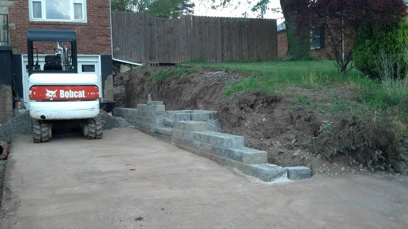 Wall Build Start